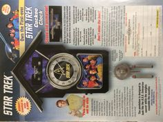Who hasn't yearned for a classy STAR TREK cuckoo clock? Hurry. Only 5000 left.