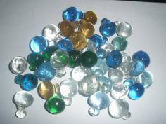 Vintage set of 60 Czech Glass Grape Cluster for chandelier parts look