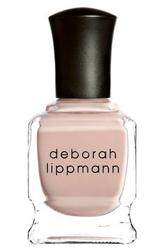 For a classic nude manicure.