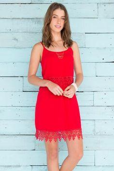 Scarlett Crochet Dress