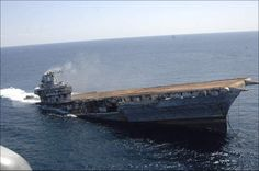 USS Oriskany  CVA 34 Aircraft Carrier  2006 was sunk 24 miles off the coast of Pensacola, Florida on May 17, 2006 after decommissioning  to form an artificial reef. The 888-foot ship took about 37 minutes to sink below the surface.