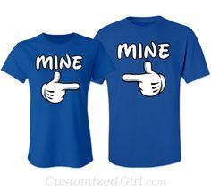Matching Couple Shirts - Mine