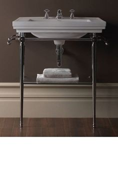 Pic Of Imperial Astoria Deco large basin stand chrome with Astoria Deco large basin Deco FurnitureBathroom