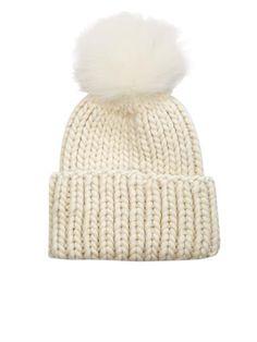 Rain fur and wool beanie hat | Eugenia Kim | MATCHESFASHION.COM