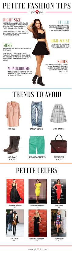 Here are the shortcuts for you to enhance your petite style fashion. Petite style fashion will not be a hassle for you anymore.