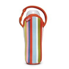 Never leave the house without an extra bottle or sippy cup again. Keep one on-hand no matter where you are with this Bottle Buddy bottle tote from Built NY. Made from neoprene, this tote is PVC, BPA, and vinyl free as well as stain resistant.