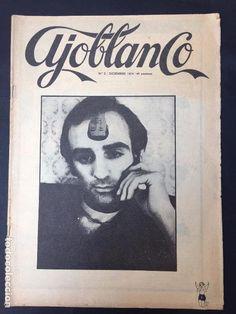 Revista Ajoblanco número 2 y de regalo el número 3. Lote de dos números de la célebre revista. - Foto 1