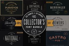 by Hustle Supply Co. on The Collector's Font Bundle - 53 Fonts in Total (Over Off) Hustle Supply Co. By Jeremy Vessey --- The Collector's Font Bundle is a Design Typography, Typography Fonts, Cursive Fonts, Handwriting Fonts, Alphabet Fonts, Calligraphy Fonts, Cool Fonts, New Fonts, Creative Fonts