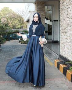 Dress Muslim Modern, Kebaya Modern Dress, Kebaya Dress, Dress Brokat Muslim, Muslim Dress, Kebaya Muslim, Hijab Evening Dress, Hijab Dress Party, Hijab Gown