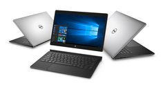 Dell's XPS 12 enters the 2-in-1 convertible category, while the XPS 13 and XPS 15 get refreshed internal components.