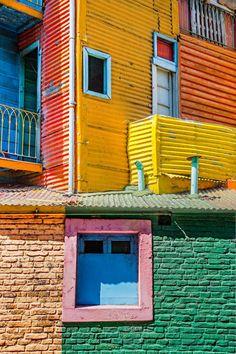 P. KENT FAIRBANKS ARCHITECT / PHOTOGRAPHER - la boca in buenos aires - color inspiration!