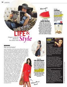 YLVA im aktuellen BIBER!! Ayurveda, Discover Magazine, Lifestyle, Fashion, Blood Pressure, Marriage, Tips, Moda, Fashion Styles