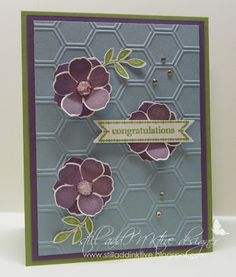 "Stampin' Up! Secret Garden by Debbie Henderson, Debbie's Designs. Come play a brand new color & sketch challenge at ""still addINKtive""!"