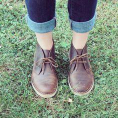 Clark's desert boots women