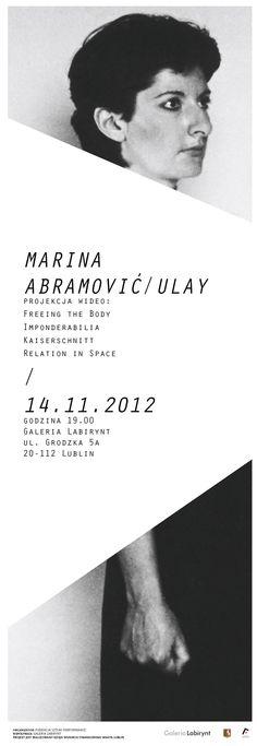 Marina Abramović & Ulay (films' screening)