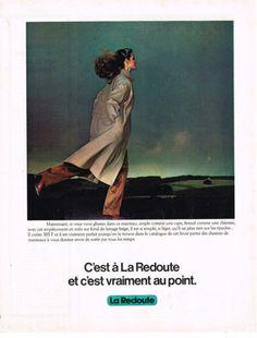 PUBLICITE-1974-LA-REDOUTE-vente-par-correspondance