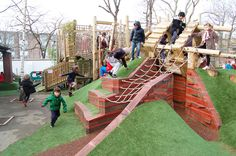 Adventurous Playgrounds in Camden, London, by Erect Architecture and Wayward