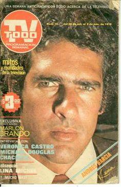Andres Garcia En Revista Tv Todo 1976, Veronica Castro - $ 100.00