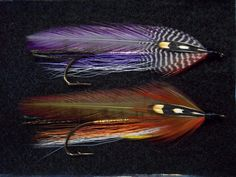 Mike Martinek - Collector Streamer flies- tied by Larry Leigh   September Witch Pete Windrush Special    Tied on Mike Martinek Carrie Steven's Rangeley Hook size 2 8XL
