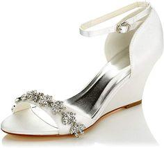 Wunderschön  Schuhe & Handtaschen, Schuhe, Damen, Pumps Satin Pumps, Shoes, Fashion, Toe, Handbags, Women's, Moda, Zapatos, Shoes Outlet