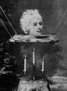 Georges Méliès The retraction of a lady in Robert-Houdin. Was a pioneer in Sci-Fi & Horror Cinema. Dark Photography, Vintage Photography, Macabre Photography, Old Photos, Vintage Photos, Joel Peter Witkin, Silent Film, Film Stills, Illustrations