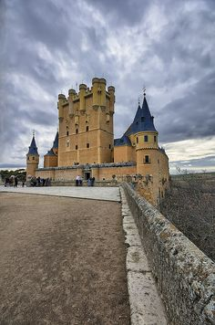 Segovia- In central Spain. An ancient city, settled by the Romans. An ancient Roman aqueduct provided the city's water supply until 1958.