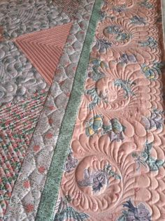 Beautiful quilting by Sheri Butler.