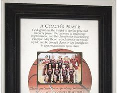 Thank You Appreciation Gift for Basketball Coach, Basketball Team Coaches Gifts Wedding Gifts For Parents, Wedding Gifts For Bride, Gifts For Father, Anniversary Party Decorations, 50th Anniversary Gifts, Coach Appreciation Gifts, Handmade Wedding Gifts, Photo Frame Design, Personalized Picture Frames