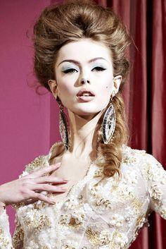 Modern Marie Antoinette hair