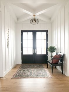 Entryway designed and built by Gowler Homes