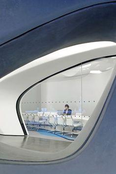 Roca London Gallery, London, UK by Zaha Hadid Architects....