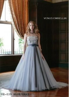 Pin by Lisa Kayser on Bridal in 2019 Wedding Dresses With Flowers, Colored Wedding Dresses, Strapless Party Dress, Royal Dresses, Beautiful Gowns, Pretty Dresses, Evening Dresses, Prom Dresses, Designer Dresses