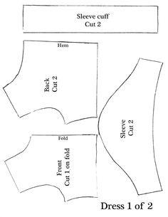 American Girl Dress Pattern ... http://mycupoverflows-johnson.blogspot.co.uk/2012/03/american-girl-dress-pattern.html?showComment=1333459309110#