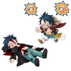 law x luffy One Piece Meme, One Piece Ship, One Piece Comic, One Piece Fanart, One Piece Luffy, Sad Anime, Kawaii Anime, One Piece Fairy Tail, Kaichou Wa Maid Sama