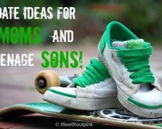 Date Ideas for Moms and Teenage Sons. Suggestions in the comments, too. Pointing out the Moms vs Sons game of bowling (or the like)