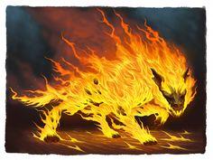Hell Hound by ~DaveAllsop on deviantART