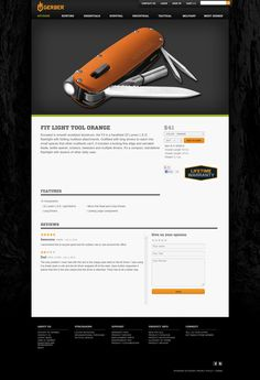 Big and Bold Item Pics [eCommerce Product Page Layout]