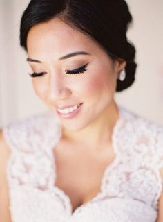 Attractive Bridal Makeup For An Asian Bride asian bride makeup by makeup by atefeh wwww.tranzformations.com.au mlvyxbo