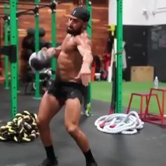 """1,017 Likes, 23 Comments - Eric Leija (@primal.swoledier) on Instagram: """"This single kettlebell flow will crush you!!! Try it out and check out my online Kettlebell Course…"""""""