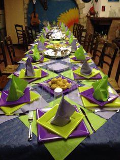 Cena tra amici, apparecchiare la tavola