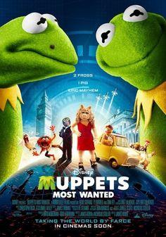 Poster de Muppets most wanted (El tour de los Muppets) http://evpo.st/1cLQ9ST de @Maria Motika #MuppetsMostWanted