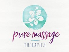 Pure Massage Therapies Logo-Final 3