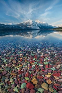 """""""Mountain Jewels"""" at Glacier National Park"""