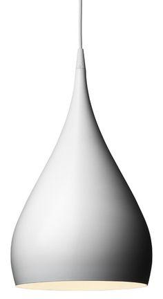 BH1 white pendant lamp | lighting . Beleuchtung . luminaires | Design: Benjamin hubert | Project Décor |