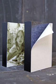 Do you have a special picture or postcard which you want to transform into a piece of art. This fantatic sticky block frame is perfect for this! Just peal back the white paper to reveal a sticky surface. Stick on your desired image and just hand it on the wall or sit it on a table, desk or shelf.