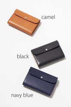 レザー財布REN、ヌメ・フラップウォレットMの商品画像/all1