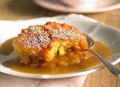 Caramel self-saucing pudding recipe - Caramel self-saucing pudding - Yahoo!7 Food