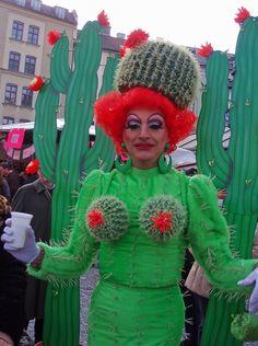 Servus München: Fasching Dienstag. cactus fashion.