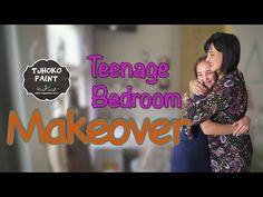 Tjhoko Paint   Room Makeover from Tween to Teen - YouTube Room Paint, Fun Projects, Tween, Youtube, Painting, Inspiration, Biblical Inspiration, Painting Art, Paintings