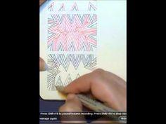 Sharky~Zentangle tutorial